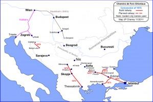 Chemins de Fer Orientaux: 1872 settlement
