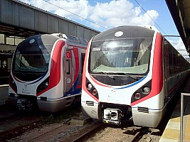 New Marmaray stock at Haydarpasa 31 July 2012