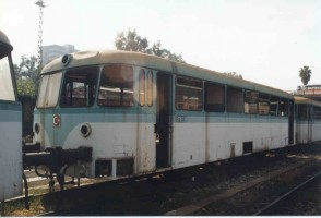 Driving trailer RP3001, Adana, October 1998, Photo Malcom Peakman
