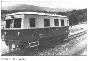 Railcar n°6 Note the makeshift buffers and light hook. Scan Eljas Pölhö