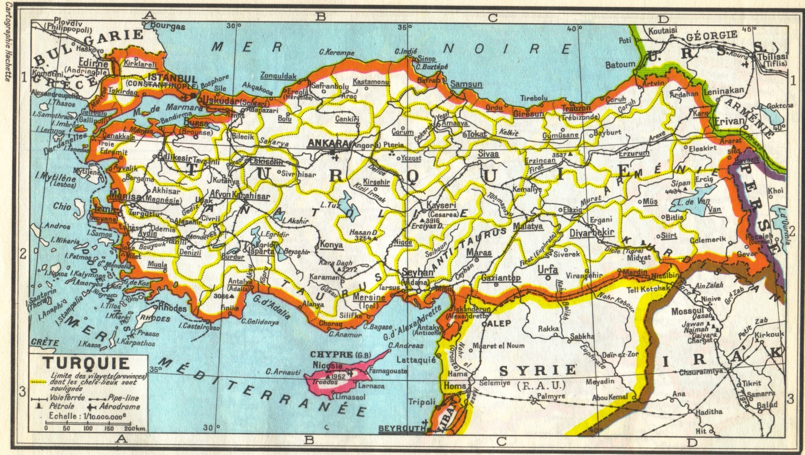 Trains of Turkey - Maps / Maps browse