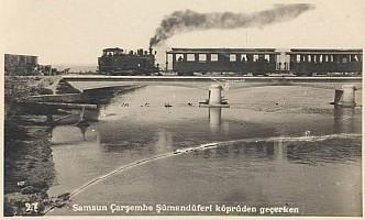 1'C't 750mm gauge, crossing a bridge