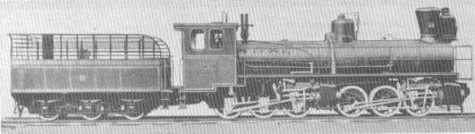 Mallet engine used by Yaroslavl - Arkhangelsk railway. Manufacturer: Borsig