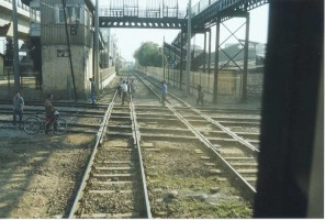 A view of Hilal taken in August 2002. This shot is facing the tracks to Halkapınar Menemen / Manisa
