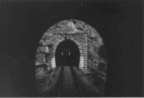 4 tunnels are seens on this picture. This is typical of this line.  Photo Malcolm Peakman