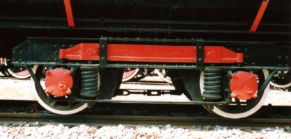 A view of the snowplow bogie