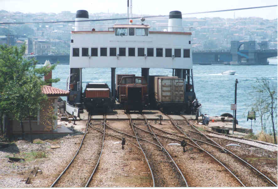 find rail ferry