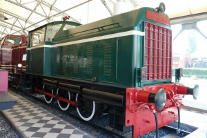 Hunslet loco, August 2011, photo JP Charrey