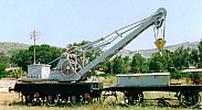 A nice British built 6 tons crane, June 1998. Photo JP Charrey