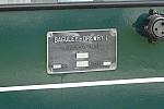 Plate of Baguley Drewry n°3700. August 2011- Photo JP Charrey