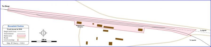 Bozanönü Track layout