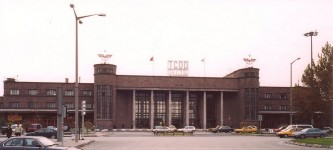 Ankara station from street side in November 2003