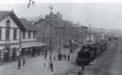 Ankara old station building from the track side