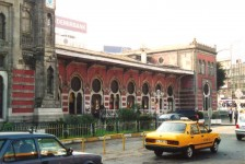 Sirkeci from the street