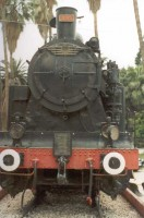 3315 plinthed in front of Adana station
