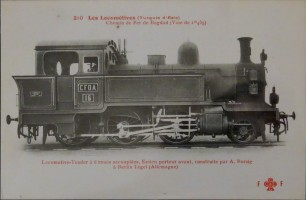 A picture of CFOA n°16 before it became TCDD n°3402