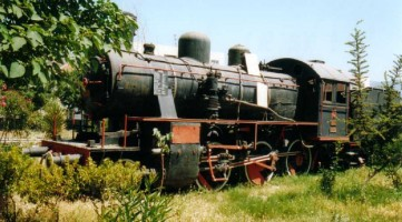 34054 plinthed in Seljuck Station. 10 June 2001