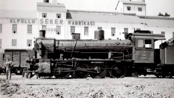 44002 at Alpullu. 8th July 1955. Photo Alan Swale