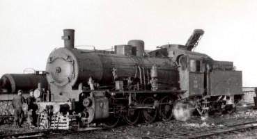 44010 at Malatya. 16th November 1955. Photo Alan Swale