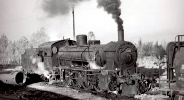 44070 all steamed up at Malatya. 17th November 1955. Photo Alan Swale
