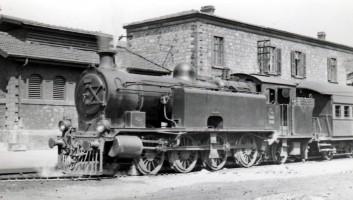 4502 at İzmir Alsancak. 7th June 1955