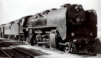 56053 at Narlı station. 16th November 1955