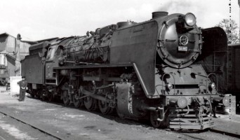 56086 on Eskişehir Depot. 31st May 1956