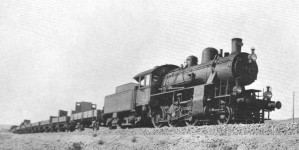 Another 34051 type working a light freight, near Çankiri, about 1935