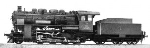 Above: Nohab official factory picture of probably 45001, 1929