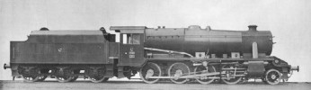 War Departement Engine n°354 official picture on delivery. This engine was lost during shipping was never actually in Turkey (Col. Mitchell Library)