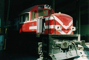 DE21505 being overhauled at ADF in November 2003