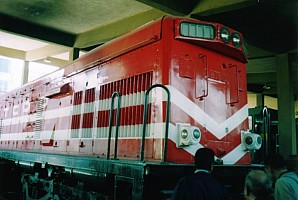 DE21505 being overhauled at ADF in November 2003