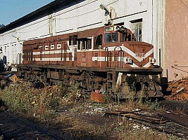 DE21505 at Çatalağzi, in a sorry state. Photo Phil Wormald