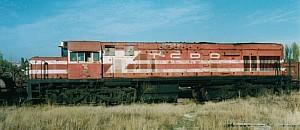 DE21534 dumped at Ankara Demiryol Fabrikasi. November 2003. Photo JP Charrey