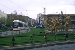 Eskişehir tramway, Photo Jack May
