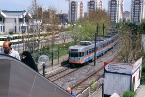 Istanbul Hafif metro, April 2011. Photo Jack May