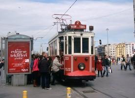 Istanbul Nostalgic Trawmay, April 2011. Photo Jack May