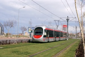 Kayseri tram, April 2011. Photo Jack May
