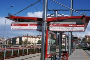 Kayseri tram, April 2011. Photo Jack May