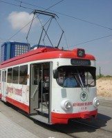 Konya tram. Photo G. Tunçbilek, October 2005