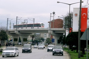 Samsun tram, April 2011. Photo Jack May