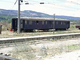 Works car in Corlu. Converted from an AB4ü, built by SWS in 1961. Photo Mahmut Zeytinoğlu