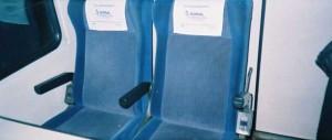 the seat of TVS2000 Pullman. 2001. Photo Gökçe Aydin.