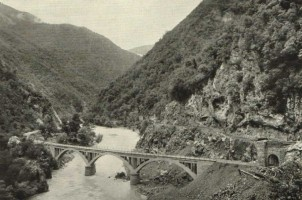 A bridge over the Araç river, north of Karabük