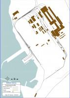 Track plan of Isdemir factory