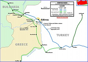 Edirne area