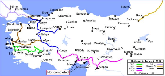 Trains of Turkey  History  History