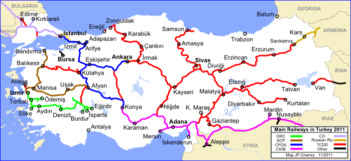 Trains Of Turkey History History