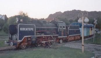 Same engine, fireman side. August 2003 Photo G. Tunçbilek