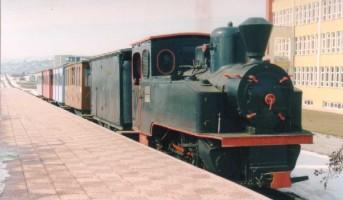 Henschel n°15943, on OGÜ railway, Eskisehir. January 2002. Photo JP Charrey